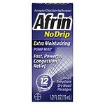 Afrin No Drip 12 Hour Pump Mist, Extra Moisturizing- .5 fl oz