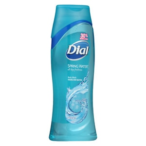 Dial All Day Freshness, Moisturizing Body Wash, Spring Water