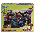 Scooby Doo Pirate Fort and Action Figures, 7 Pack- 1 ea