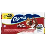 Charmin Ultra Strong Toilet Paper Double Rolls- 24 ea