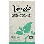 Veeda Natural Panty Liners- 40 ea