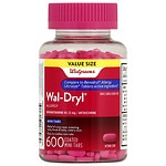 Walgreens Wal-Dryl Allergy Mini-Tabs- 600 ea