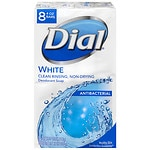 Dial Antibacterial Deodorant Bar Soap, Clean and Fresh, 4.0 oz Bars