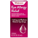 Walgreens Eye Drops Allergy Relief- .5 oz