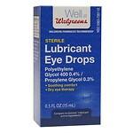 Walgreens Sterile Lubricant Eye Drops- .5 oz