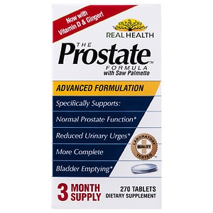 Real Health Laboratories The Prostate Formula with Saw Palmetto, Tablets&nbsp;