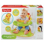 Fisher-Price Sit-Me-Up Floor Seat with Tray- 1 ea