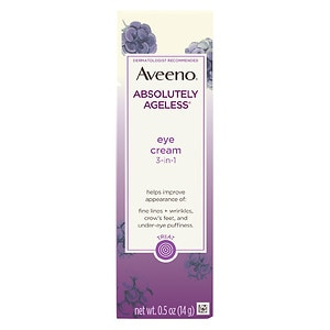 Aveeno Active Naturals Absolutely Ageless Eye Cream, Blackberry