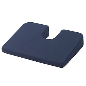Drive Medical Compressed Coccyx Cushion, Blue, 1 ea