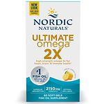 Nordic Naturals Ultimate Omega 2X, Lemon- 60 ea