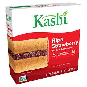 Kashi Soft-Baked Cereal Bars, Ripe Strawberry, 6 pk