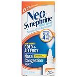Neo-Synephrine Cold & Sinus Extra Strength Nasal Decongestant Spray- .5 fl oz
