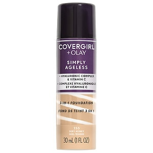 CoverGirl & Olay Simply Ageless 3-in-1 Liquid Foundation, Soft
