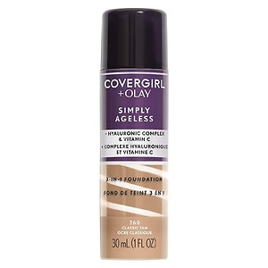 CoverGirl & Olay Simply Ageless 3-in-1 Liquid Foundation, Classic