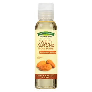 Nature's Truth 100% Pure Unscented Base Oil, Sweet Almond