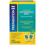Preparation H Medicated Wipes- 96 ea