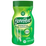 Benefiber Non-Thickening Powder, Sugar Free, 125 dose, Unflavored- 17.6 oz