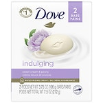 Dove Purely Pampering Beauty Bar, Sweet Cream & Peony, 2 Bar- 4 oz