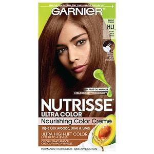 Garnier Nutrisse Ultra Color Permanent Haircolor, Bright Toffee HL1