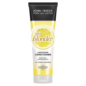 John Frieda Sheer Blonde Go Blonder Lightening Conditioner, 8.3 oz
