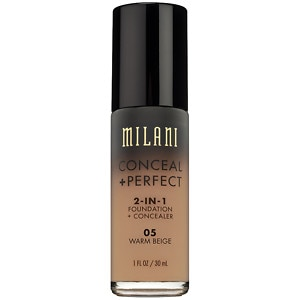 Milani Conceal + Perfect 2-in-1 Foundation + Concealer, Warm