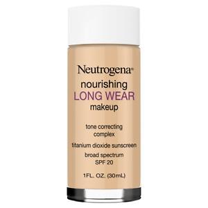Neutrogena Nourishing Longwear Makeup, SPF 20, Honey, 1 oz