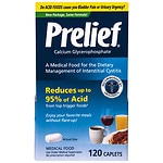 Prelief Acid Reducer Dietary Supplement Tablets- 120 ea