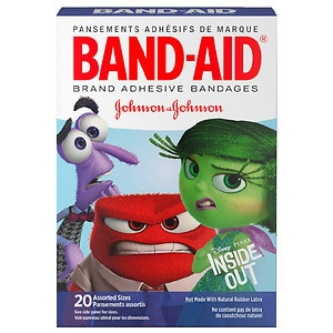 Band-Aid Children's Adhesive Bandages, DISNEY-PIXAR Inside Out