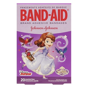 Band-Aid Childrens Adhesive Bandages, DISNEY JR.'s SOFIA the First