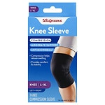 Walgreens Knee Compression Sleeve, L/XL- 1 ea