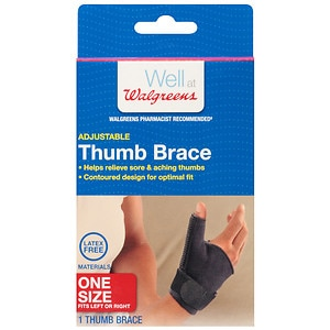 Walgreens Thumb Brace, One Size