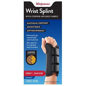 Walgreens Copper Wrist Splint Right