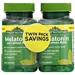 Finest Natural Melatonin 10 mg, 2 pk- 60 ea