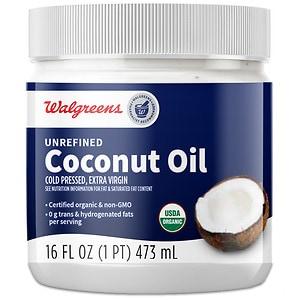 Walgreens Unrefined Coconut Oil