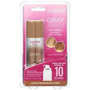 Everpro Gray Away for Women, Lightest Brown/Medium Blonde