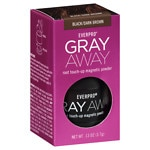 Everpro Gray Away Root Touch-Up Magnetic Powder, Black/Dark Brown- .13 oz