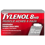 TYLENOL 8 Hour Muscle Aches & Pain Caplets- 100 ea