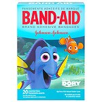 Band-Aid Children's Adhesive Bandages,Disney's Finding Dory, Assorted Sizes- 20 ea