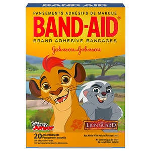 Band-Aid Children's Adhesive Bandages,Disney's Lion Guard,