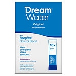 Dream Water Sleep Powder Sticks, 10 pk- .1 oz
