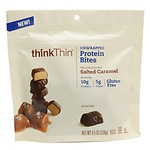 thinkThin Unwrapped Protein Bites, Salted Caramel- 4.5 oz