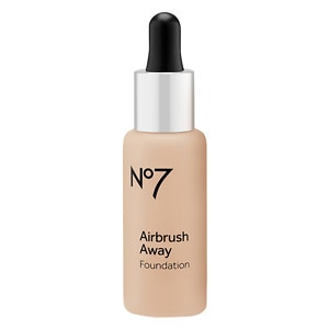 Boots No7 Airbrush Away Foundation, Warm Beige