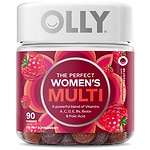 Olly The Perfect Women's Multi, Blissful Berry- 90 ea