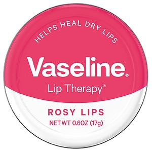 Vaseline Lip Therapy Lip Balm Tin, Rosy Lips
