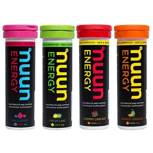nuun Hydrating Electrolyte Tablet, Variety Pack, 4 pk