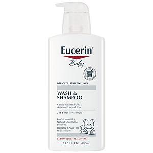 Eucerin Baby Soothing Wash & Shampoo
