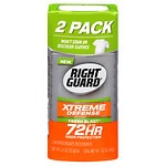 Right Guard Total Defense 5 PowerStripe Antiperspirant & Deodorant , Twin Pack, Fresh Blast, 2 pk- 4 oz