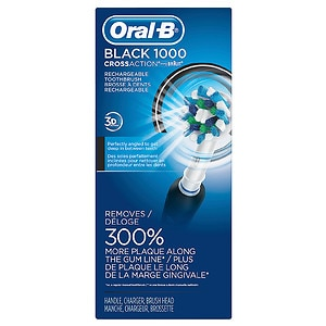 Oral-B 1000 Toothbrush with Cross Action Brush Head
