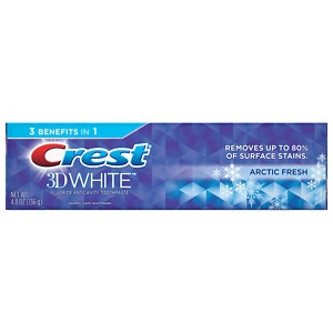 Crest 3D White Arctic Fresh Whitening Toothpaste, Icy Cool Mint