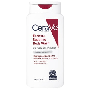 CeraVe Eczema Soothing Body Wash, 10 oz